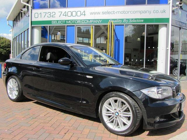 Used 2009 bmw 1 series coupe black edition 120d m sport diesel for sale in sevenoaks uk autopazar - Black bmw 1 series coupe ...