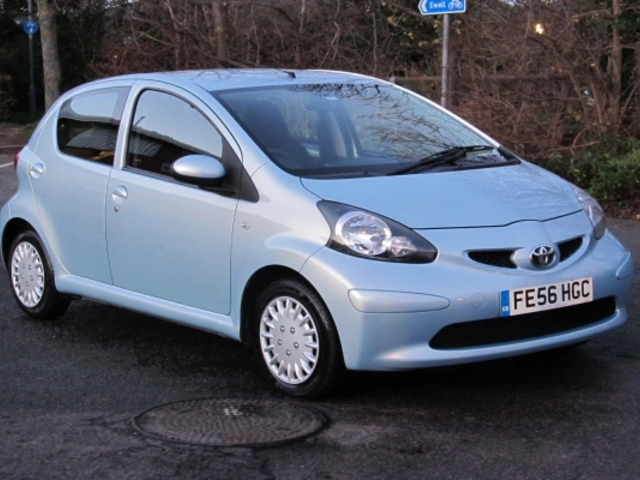 used blue toyota aygo 2006 unleaded in great condition for sale autopazar. Black Bedroom Furniture Sets. Home Design Ideas