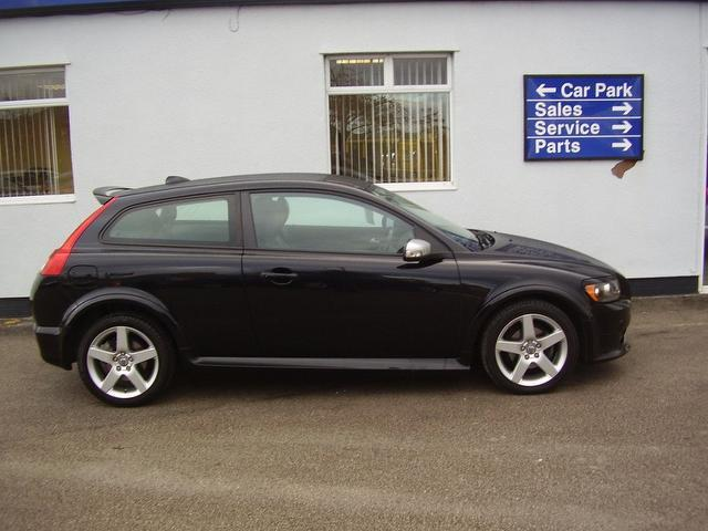 volvo c30 black 2013. used volvo c30 20 r design sport coupe black 2008 petrol for sale in uk 2013