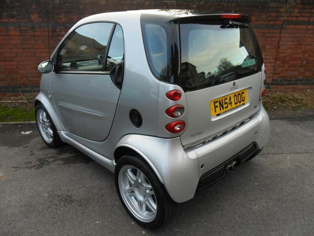 used smart fortwo 2004 petrol brabus 2dr auto 0 7 coupe silver with abs breaks for sale autopazar. Black Bedroom Furniture Sets. Home Design Ideas