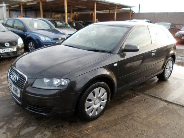 Used Grey Audi A3 2005 Petrol 1 6 Special Edition 3dr