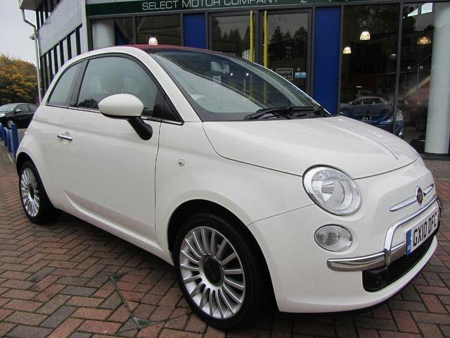 used 2010 fiat 500 convertible 1 2 lounge 2dr dualogic petrol for sale in sevenoaks uk autopazar. Black Bedroom Furniture Sets. Home Design Ideas