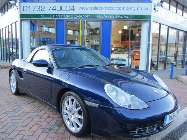 used porsche boxster 2000 petrol 3 2 s 2dr hardtop convertible blue edition for sale in. Black Bedroom Furniture Sets. Home Design Ideas