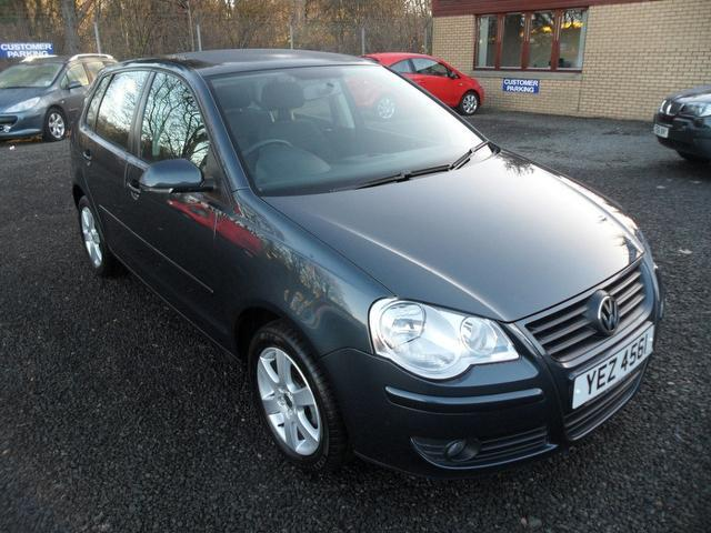 Used Volkswagen Polo 2009 Grey Hatchback Petrol Automatic for Sale