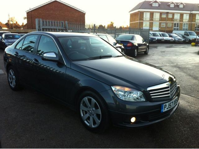 Used grey mercedes benz 2008 diesel class c200 cdi se for Used mercedes benz diesel for sale