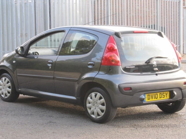 used peugeot 107 2010 petrol gray with for sale autopazar. Black Bedroom Furniture Sets. Home Design Ideas