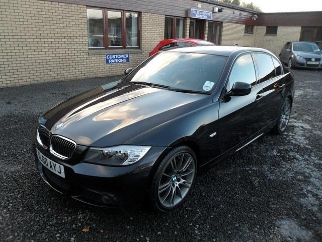 used black bmw 3 series 2010 diesel 320d 184 sport saloon in great condition for sale autopazar. Black Bedroom Furniture Sets. Home Design Ideas