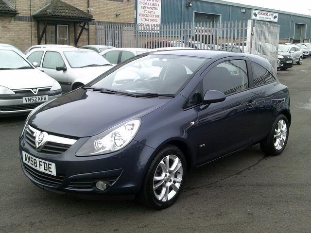 used vauxhall corsa for sale in 2008 uk autopazar. Black Bedroom Furniture Sets. Home Design Ideas