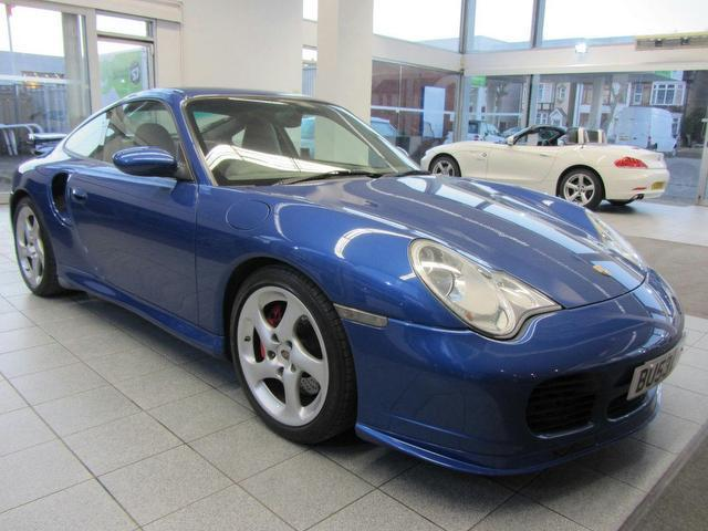 used porsche 911 2003 model turbo 996 2dr coupe petrol blue for sale in sevenoaks uk autopazar. Black Bedroom Furniture Sets. Home Design Ideas