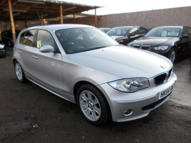 used bmw 1 series 2005 diesel 120d se 5dr hatchback silver. Black Bedroom Furniture Sets. Home Design Ideas