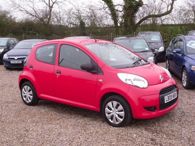 used citroen c1 2009 petrol vt 5dr hatchback red edition for sale in nuneaton uk autopazar. Black Bedroom Furniture Sets. Home Design Ideas