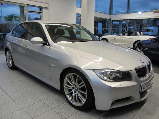 used bmw 3 series 2006 diesel 330d m sport saloon silver edition for sale in sevenoaks uk. Black Bedroom Furniture Sets. Home Design Ideas