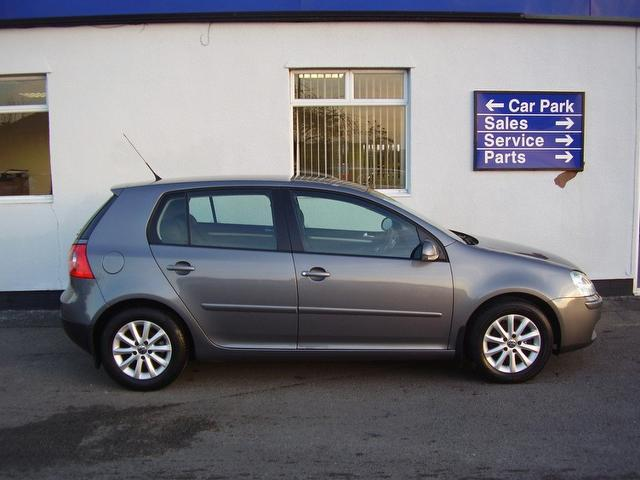 used volkswagen golf 2008 manual petrol 1 6 match fsi 5. Black Bedroom Furniture Sets. Home Design Ideas