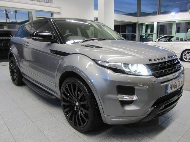 used grey land rover range 2011 petrol evoque 2 0 coupe in great condition for sale autopazar. Black Bedroom Furniture Sets. Home Design Ideas
