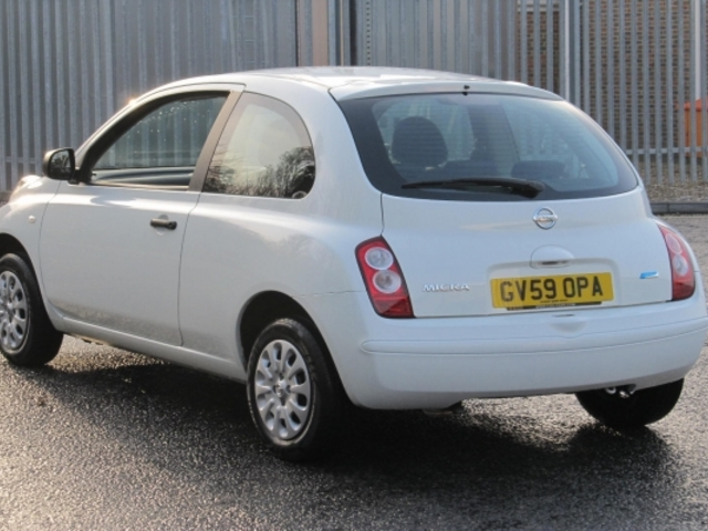 used nissan micra 2009 manual petrol white for sale uk autopazar. Black Bedroom Furniture Sets. Home Design Ideas
