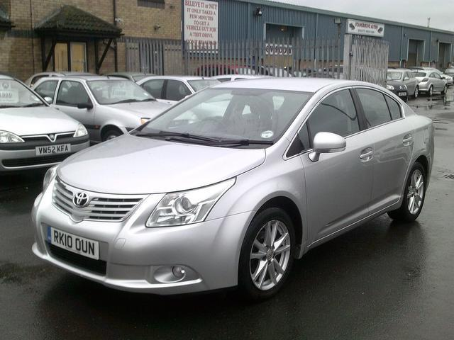 Used Toyota Avensis 2010 Silver Saloon Diesel Manual for Sale