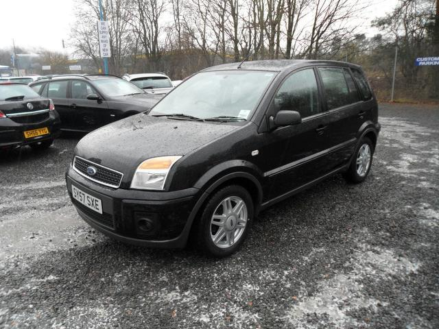 used ford fusion 2007 model 1 6 zetec 5dr auto petrol. Black Bedroom Furniture Sets. Home Design Ideas