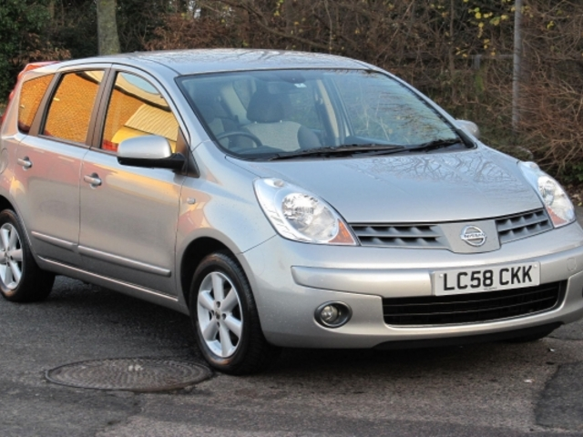 used 2008 nissan note silver edition petrol for sale in epsom uk autopazar. Black Bedroom Furniture Sets. Home Design Ideas