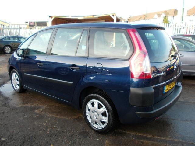 used citroen c4 2008 diesel grand picasso 16v estate blue edition for sale in wembley uk. Black Bedroom Furniture Sets. Home Design Ideas