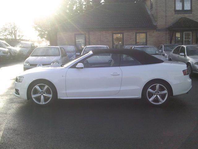 Used 2009 Audi A5 Convertible 2 7 Tdi S Line Diesel For Sale