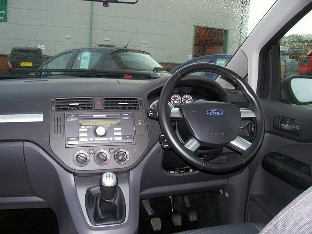 used ford focus 2006 grey paint petrol c max 1 6 style 5dr. Black Bedroom Furniture Sets. Home Design Ideas