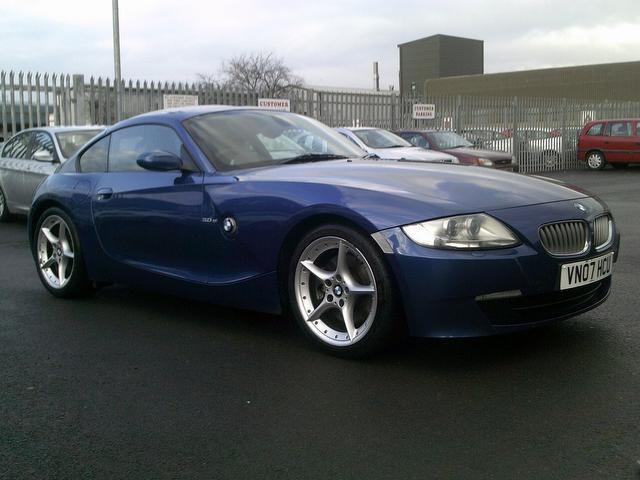 Used Bmw Z4 2007 Blue Paint Petrol 3 0si Sport 2dr Coupe