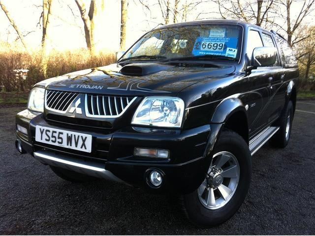 Used Cars For Sale Under 6000 >> Used Black Mitsubishi L200 2006 Diesel Double Cab Td Trojan 4x4 Excellent Condition For Sale ...