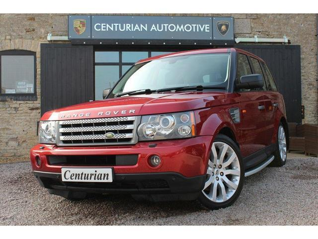 used land rover range 2007 diesel sport 3 6 4x4 red with heated seats for sale autopazar. Black Bedroom Furniture Sets. Home Design Ideas