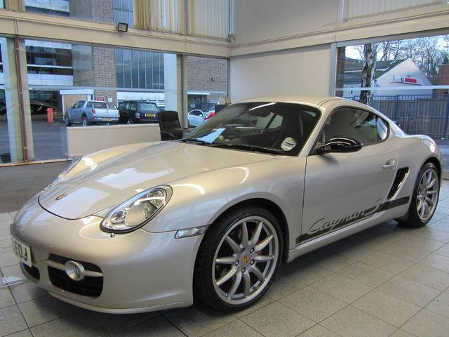 used porsche cayman 2009 petrol 3 4 s sport 2dr coupe silver edition for sale in sevenoaks uk. Black Bedroom Furniture Sets. Home Design Ideas