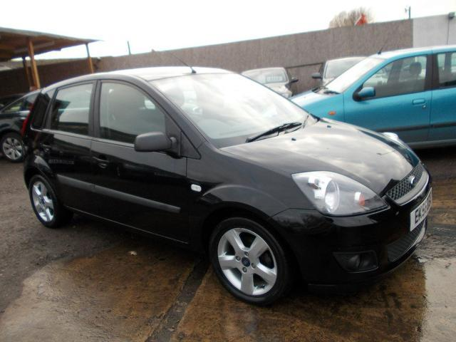 used black ford fiesta 2006 petrol 1 4 freedom 5dr hatchback in great condition for sale autopazar. Black Bedroom Furniture Sets. Home Design Ideas