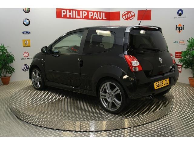 Used Renault Twingo 1.6 Vvt Renaultsport 133 Hatchback Black 2010 Petrol for Sale in UK