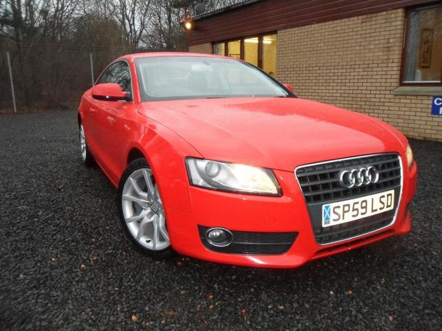 used red audi a5 2009 diesel 2 0 tdi sport 2dr coupe excellent condition for sale autopazar. Black Bedroom Furniture Sets. Home Design Ideas