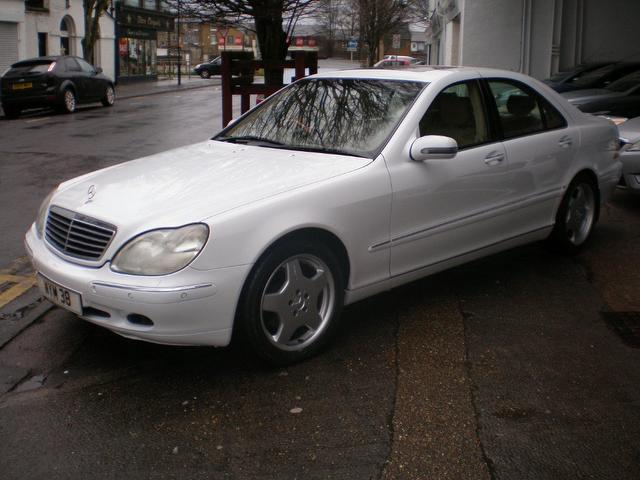 Used mercedes benz 2008 petrol class s320 4dr auto saloon for Used white mercedes benz for sale