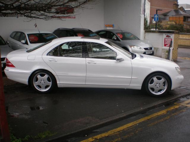 Used mercedes benz 2008 petrol class s320 4dr auto saloon for White s550 mercedes benz for sale