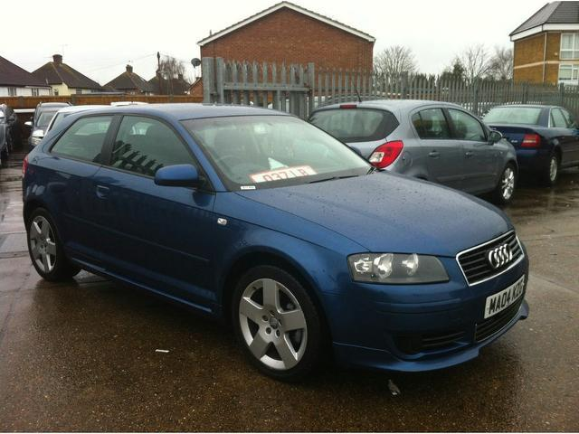 used audi a3 2004 petrol 2 0 fsi se 3dr hatchback blue with car immobiliser for sale autopazar. Black Bedroom Furniture Sets. Home Design Ideas