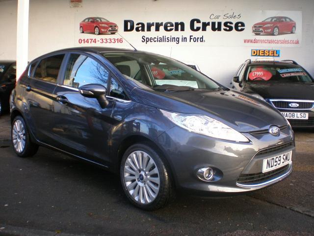 Used Ford Fiesta  Grey Hatchback Petrol Automatic For Sale
