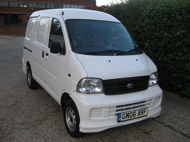 Used Daihatsu Extol 2006 Petrol 1298 Cc 1 3 Van - White For Sale In