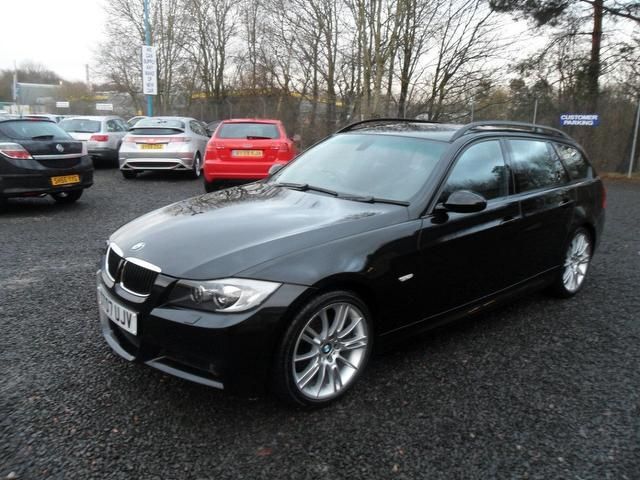 used bmw 3 series 2007 manual petrol 320i m sport black for sale uk autopazar. Black Bedroom Furniture Sets. Home Design Ideas