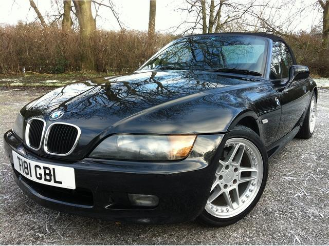 used bmw z3 petrol 1 9 2dr auto convertible black edition for sale in stoke on trent uk autopazar. Black Bedroom Furniture Sets. Home Design Ideas