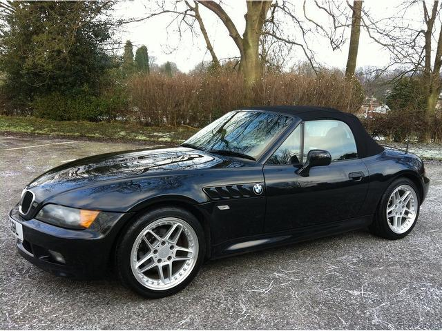 Used Bmw Z3 Petrol 1 9 2dr Auto Convertible Black Edition