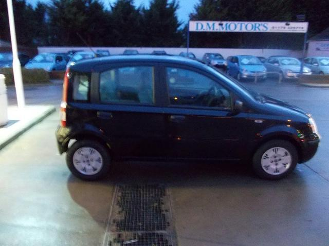 used fiat panda 2006 diesel 1 3 multijet dynamic 5dr hatchback black with car immobiliser for. Black Bedroom Furniture Sets. Home Design Ideas