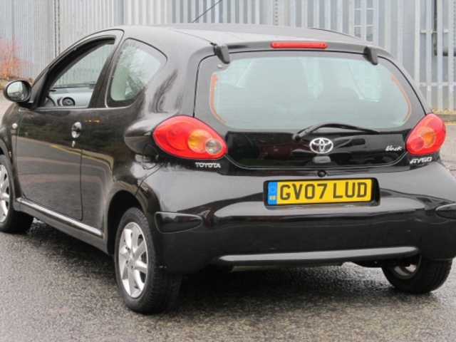 used toyota aygo 2007 unleaded black edition for sale in epsom uk autopazar. Black Bedroom Furniture Sets. Home Design Ideas