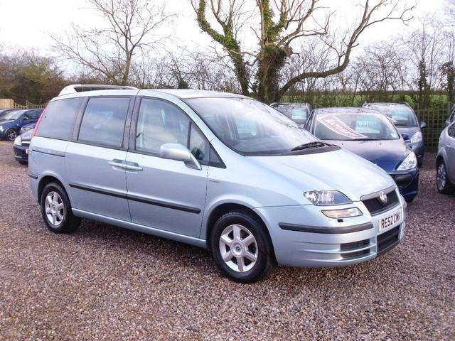 Used Fiat Ulysse 2003 Blue Colour Diesel 2 0 Jtd 16v