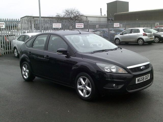 hits 2242 - Ford Focus 2009 Black