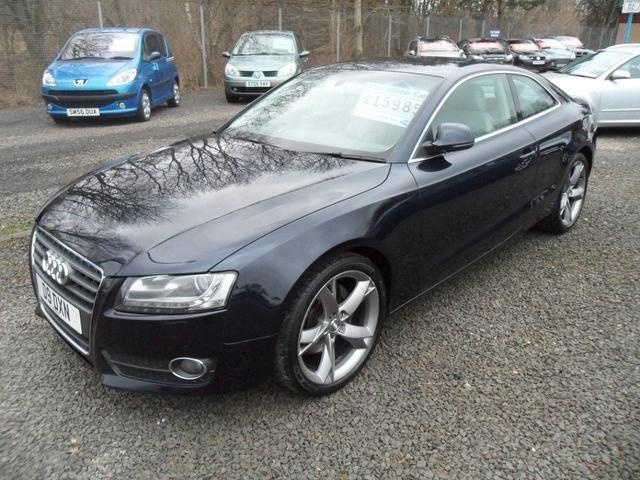 used audi a5 2008 blue colour diesel 2 7 tdi sport 2 door coupe for sale in inveralmond place uk. Black Bedroom Furniture Sets. Home Design Ideas
