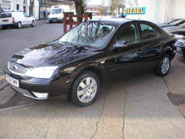 used ford mondeo 2006 black colour diesel 130. Black Bedroom Furniture Sets. Home Design Ideas