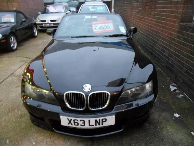 Used Bmw Z3 Car 2000 Black Petrol 3 0 2 Door Convertible