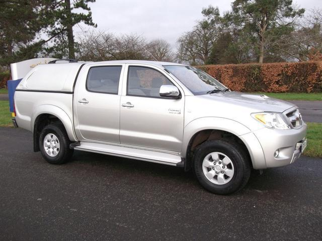 used toyota hilux for sale uk autopazar autopazar. Black Bedroom Furniture Sets. Home Design Ideas
