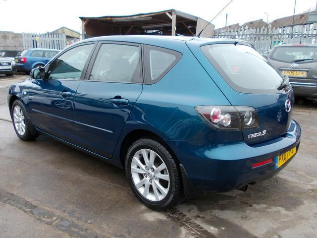 used mazda mazda3 2007 model 1 6 ts2 5dr petrol hatchback blue for sale in wembley uk autopazar. Black Bedroom Furniture Sets. Home Design Ideas