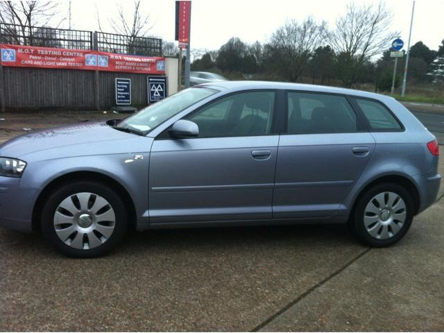 used audi a3 2006 diesel 1 9 tdi 5dr hatchback silver edition for sale in ashford uk autopazar. Black Bedroom Furniture Sets. Home Design Ideas